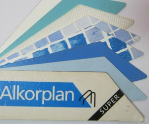 Těžká bazénová fólie Alkoplan 2000 a Alkorplan Super